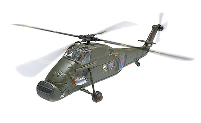 Westland Wessex HU5 XT480 847 NAS Coded X-Q Bluffcove (Falklands 30th Anniversary), 1:72, Corgi