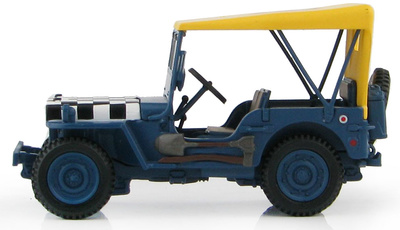 "Willy's Jeep ""Follow Me"" Royal Air Force, 2ª GM, 1:48, Hobby Master"