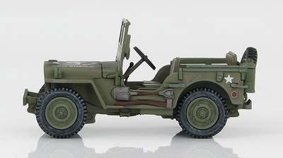 Willys Jeep MB, 101st Airborne Division, WWII, 1:48, Hobby Master