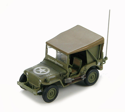 Willys Jeep MB, USA 20220584, Military Police, WWII, 1:72, Hobby Master