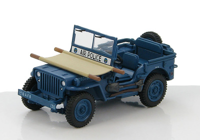 Willys Jeep MB USAF, Air Police, 1950s, 1:48, Hobby Master