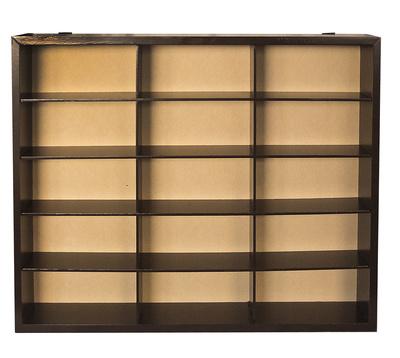 Wooden display shelf, Atlas Editions
