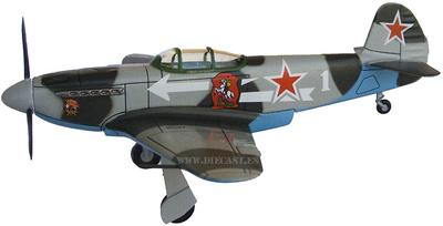 YAK-3, General N. Zakharov, 1944/45, 1:72, Altaya