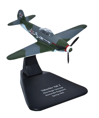 Yak 3, Normandie Regiment, 1945, 1:72, Oxford