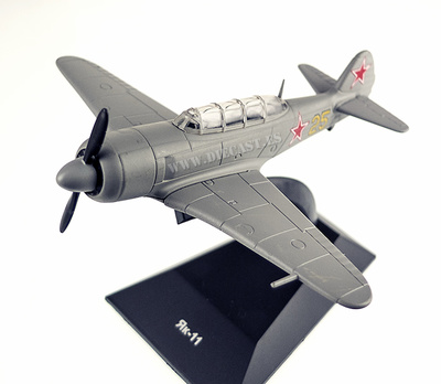 Yakovlev Yak-11, 1946-1962, 1:80, DeAgostini