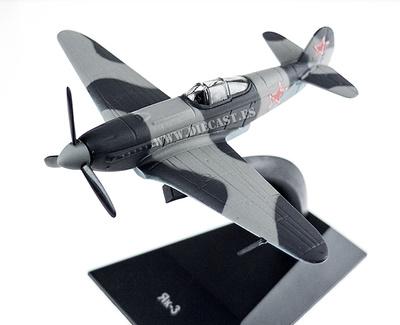 Yakovlev Yak-3, 2º Guerra Mundial, 1:100, DeAgostini