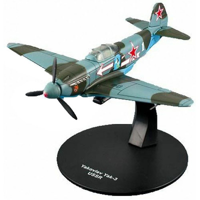 Yakovlev Yak-3, Soviet Army Air Service Fighter, WW II, 1:72, DeAgostini
