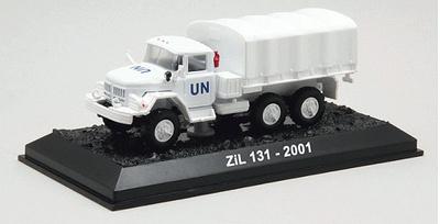 ZIL 131, Naciones Unidas, 2001, 1:72, Amercom