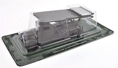 ZIS-6 camión con BM-13 Katyusha, 1:72, DeAgostini