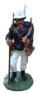 Zapador con uniforme de marcha, 1881, 1:30, Del Prado