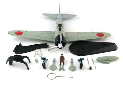 Zero TIpo II, 3-112, Teniente Minoru Suzuki, 12th Kokutai, China 1941, 1:48, Hobby Master