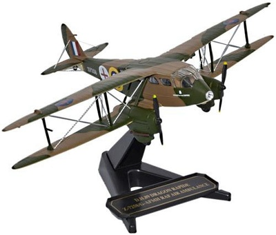 de Havilland DH 89 Dragon Rapide, RAF Air Ambulance, 1:72, Oxford