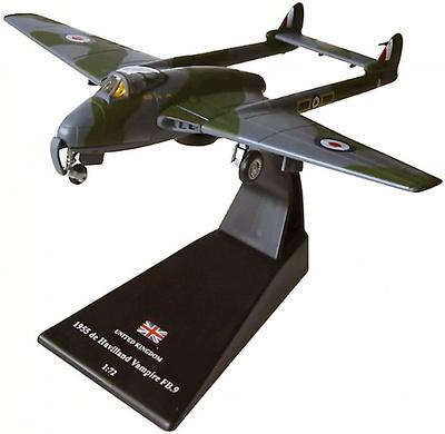 de Havilland Vampire FB.9, Gran Bretaña, 1955, 1:72, Amercom
